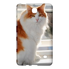 Norwegian Forest Cat Sitting 4 Samsung Galaxy Tab 4 (8 ) Hardshell Case