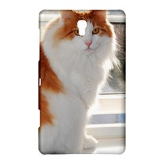 Norwegian Forest Cat Sitting 4 Samsung Galaxy Tab S (8.4 ) Hardshell Case