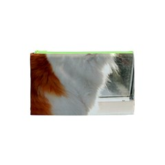 Norwegian Forest Cat Sitting 4 Cosmetic Bag (XS)