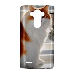 Norwegian Forest Cat Sitting 4 LG G4 Hardshell Case