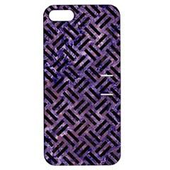 WOV2 BK-PR MARBLE (R) Apple iPhone 5 Hardshell Case with Stand