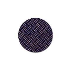 WOV2 BK-PR MARBLE Golf Ball Marker (4 pack)