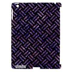 WOV2 BK-PR MARBLE Apple iPad 3/4 Hardshell Case (Compatible with Smart Cover)