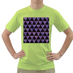 TRI3 BK-PR MARBLE Green T-Shirt