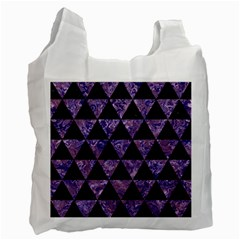 TRI3 BK-PR MARBLE Recycle Bag (One Side)