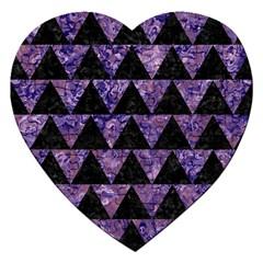 TRI2 BK-PR MARBLE Jigsaw Puzzle (Heart)