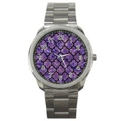 TIL1 BK-PR MARBLE (R) Sport Metal Watch