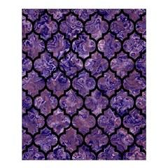 Tile1 Black Marble & Purple Marble (r) Shower Curtain 60  X 72  (medium)