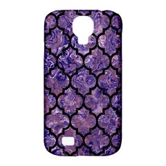 TIL1 BK-PR MARBLE (R) Samsung Galaxy S4 Classic Hardshell Case (PC+Silicone)