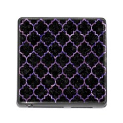 TIL1 BK-PR MARBLE Memory Card Reader (Square)