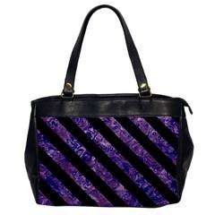 STR3 BK-PR MARBLE (R) Office Handbags