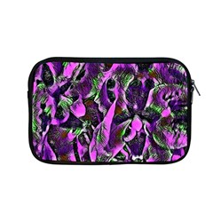 Floral  Fantasy, Pink Apple Macbook Pro 13  Zipper Case