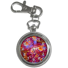 Floral Artstudio 1216 Plastic Flowers Key Chain Watches