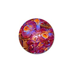 Floral Artstudio 1216 Plastic Flowers Golf Ball Marker