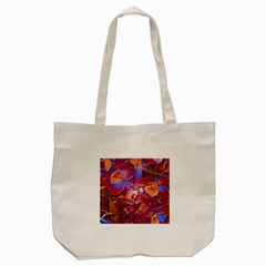 Floral Artstudio 1216 Plastic Flowers Tote Bag (cream)
