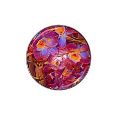Floral Artstudio 1216 Plastic Flowers Hat Clip Ball Marker (4 Pack)