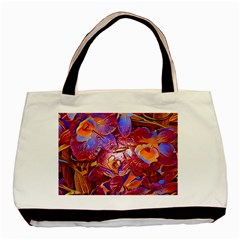 Floral Artstudio 1216 Plastic Flowers Basic Tote Bag