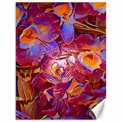 Floral Artstudio 1216 Plastic Flowers Canvas 12  X 16