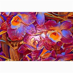 Floral Artstudio 1216 Plastic Flowers Canvas 20  X 30