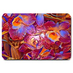 Floral Artstudio 1216 Plastic Flowers Large Doormat