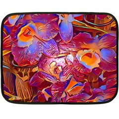Floral Artstudio 1216 Plastic Flowers Fleece Blanket (mini)