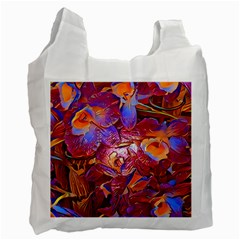 Floral Artstudio 1216 Plastic Flowers Recycle Bag (two Side)