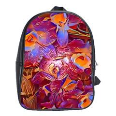 Floral Artstudio 1216 Plastic Flowers School Bags(large)