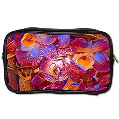 Floral Artstudio 1216 Plastic Flowers Toiletries Bags