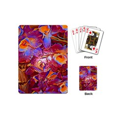Floral Artstudio 1216 Plastic Flowers Playing Cards (mini)