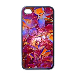 Floral Artstudio 1216 Plastic Flowers Apple Iphone 4 Case (black)