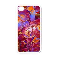 Floral Artstudio 1216 Plastic Flowers Apple Iphone 4 Case (white)