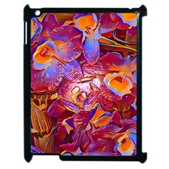 Floral Artstudio 1216 Plastic Flowers Apple Ipad 2 Case (black)