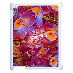 Floral Artstudio 1216 Plastic Flowers Apple Ipad 2 Case (white)