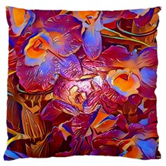 Floral Artstudio 1216 Plastic Flowers Large Cushion Case (one Side)