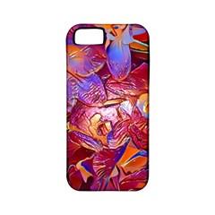 Floral Artstudio 1216 Plastic Flowers Apple Iphone 5 Classic Hardshell Case (pc+silicone)