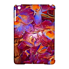 Floral Artstudio 1216 Plastic Flowers Apple Ipad Mini Hardshell Case (compatible With Smart Cover)