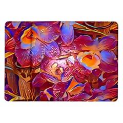 Floral Artstudio 1216 Plastic Flowers Samsung Galaxy Tab 10 1  P7500 Flip Case
