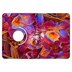 Floral Artstudio 1216 Plastic Flowers Kindle Fire Hdx Flip 360 Case