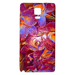 Floral Artstudio 1216 Plastic Flowers Galaxy Note 4 Back Case