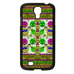 Smile And The Whole World Smiles With You Samsung Galaxy S4 I9500/ I9505 Case (black)