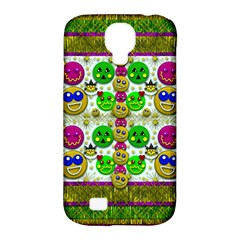 Smile And The Whole World Smiles With You Samsung Galaxy S4 Classic Hardshell Case (pc+silicone)