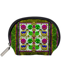 Smile And The Whole World Smiles With You Accessory Pouches (small)