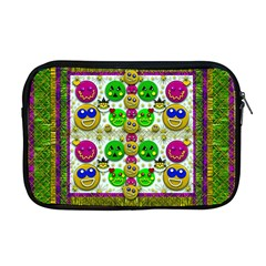 Smile And The Whole World Smiles With You Apple Macbook Pro 17  Zipper Case
