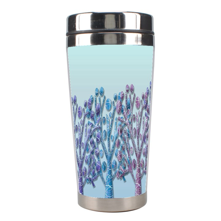 Blue magical hill Stainless Steel Travel Tumblers