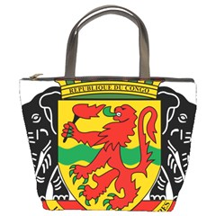 Coat Of Arms Of The Republic Of The Congo Bucket Bags