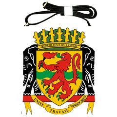 Coat Of Arms Of The Republic Of The Congo Shoulder Sling Bags