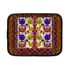 Smile And The Whole World Smiles  On Netbook Case (small)
