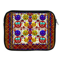 Smile And The Whole World Smiles  On Apple Ipad 2/3/4 Zipper Cases