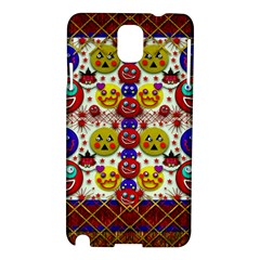 Smile And The Whole World Smiles  On Samsung Galaxy Note 3 N9005 Hardshell Case