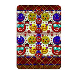Smile And The Whole World Smiles  On Samsung Galaxy Tab 2 (10 1 ) P5100 Hardshell Case